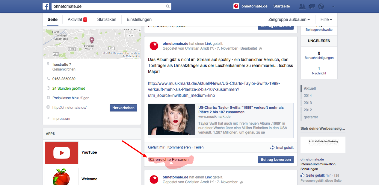 Der Facebook News Feed Algorithmus